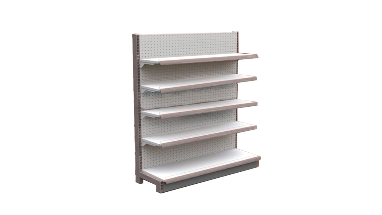 Gondola Shelf White A89s